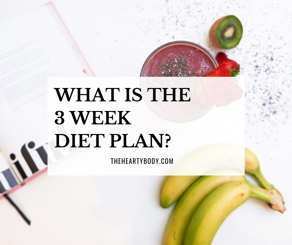 What is the 3 Week Diet Plan?