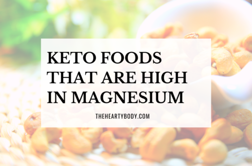 Keto Foods High In Magnesium