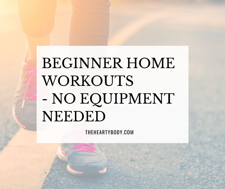 Beginner Home Workouts - No Equipment Needed