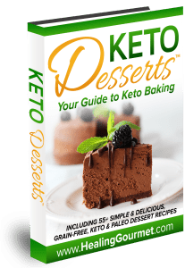 Make homemade yummy keto desserts with the Keto Dessert Cookbook