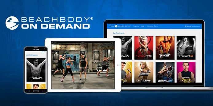 Beach Body On Demand - Workout in the comfort of your living room.