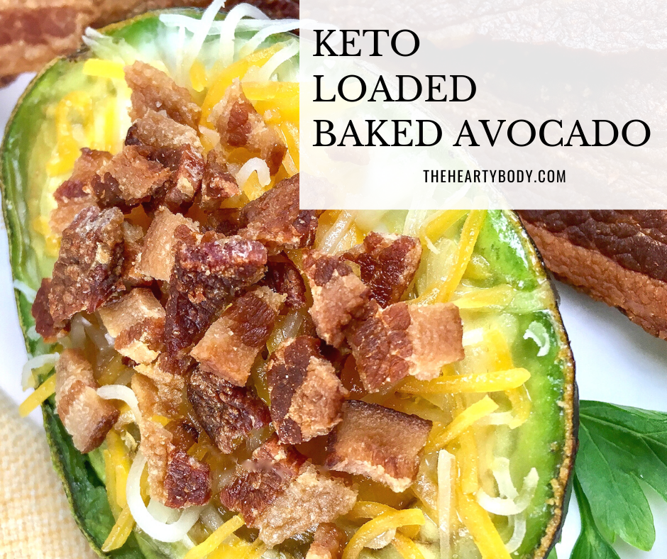 Keto Loaded Baked Avocado