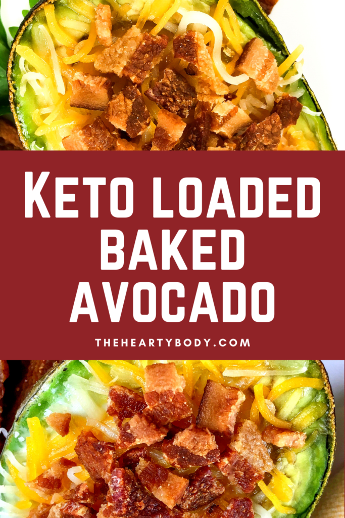 Keto Loaded Baked Avocado Recipe
