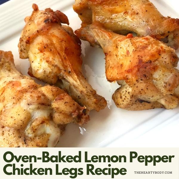 Baked Lemon Pepper Chicken Legs